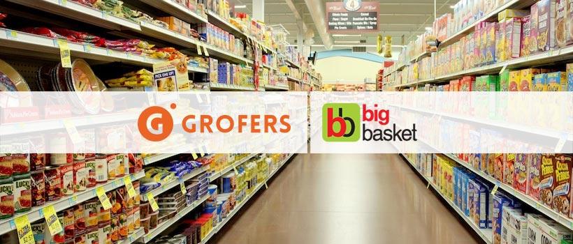 App like grofers and big-basket